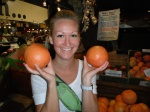 fruit, central market, shopping, food