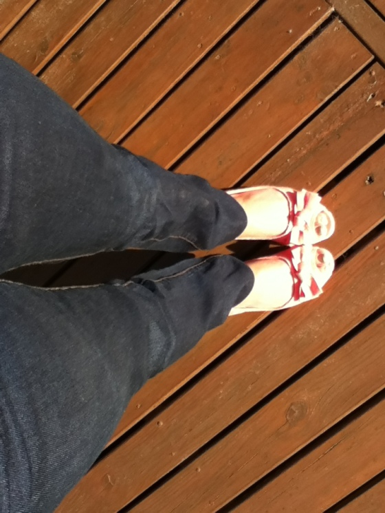 spring, shoes, Target, sunshine, Adelaide,