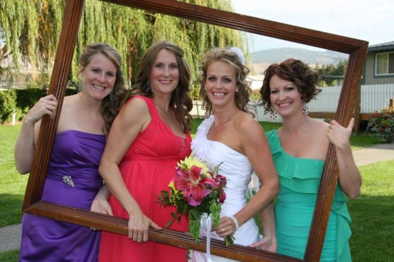 bridal party, colour, multi colour, bright, light