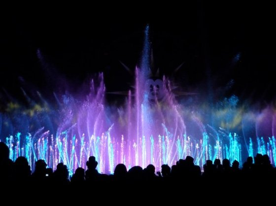World of Colour, light and water show, California Adventure