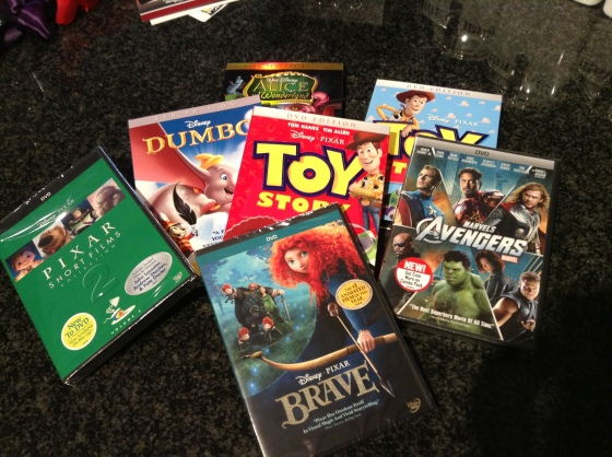 brave, pixar, disney, toy story 2, toy story, pixar shorts, avengers, marvel, dumbo, alice in wonderland