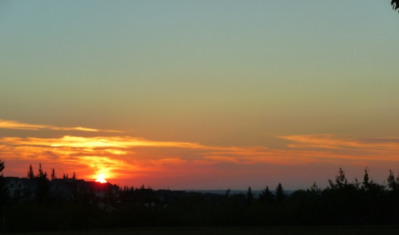 sunrise, alberta, calgary, august, beauty, gorgeous, lovely, brilliant, sun,