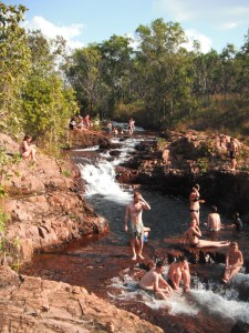 Clearest, freshest water I've ever met. Buley Rockholes, Northern Territory.